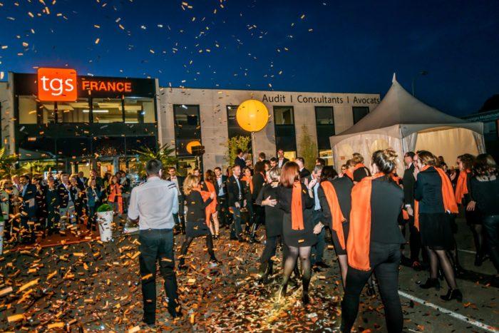 TGS France, recrutement, marque employeur, candidats, convivialité, inauguration